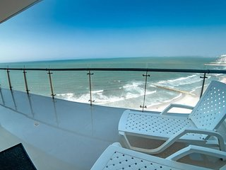 Apartment in front of the sea of Cartagena near the Historical Center