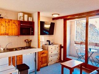T2 30 m2 cosy et tout confort, 3 étoiles, 4/5 pers, Les deux alpes