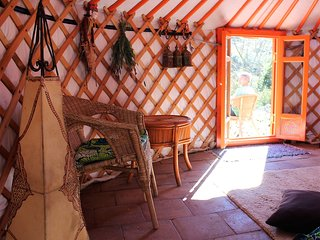 Yurt - the ultimate in flexible green accomodation