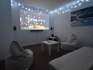 "5 Bed Whole House With 125"" Home Cinema"