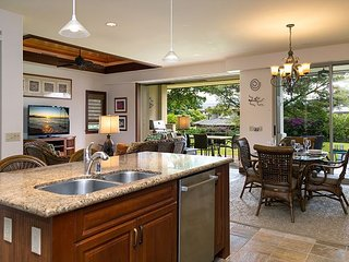 Villages at Mauna Lani 621-VIP BEACH PASS, VERY SPACIOUS DELUXE TOWN HOME!!
