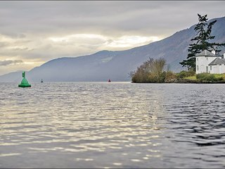 Bona Lighthouse - Overlooking the waters of Loch Ness and set on the banks of th