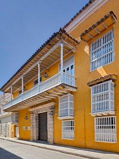Casa de Don Andres de Madariaga y Morales Conde de Pestagua Valdeterrazo