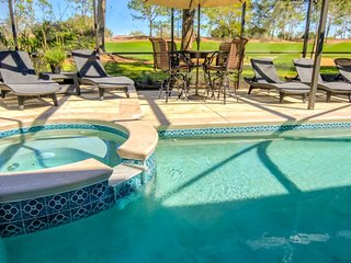 Fabulous Golf Course View Private Pool Game Room!
