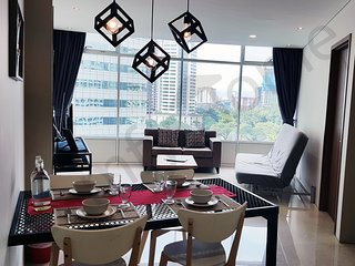 5mins to KLCC / KL City 'CENTRAL' Spacious 3 bedroom