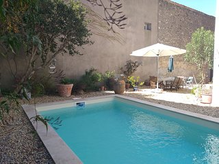 Traditional french house with pool