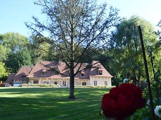 Chambre d'hôtes de charme Normandie proche honfleur 'Le prieuré des fontaines'