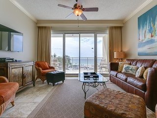 Tides 204 - Relax in paradise in beachfront condo, steps away from the Gulf!