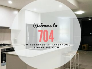 Liverpool CBD Stunning 2 Bedroom Apartment- Extra Service Available!