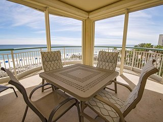 Gulf Front ~ Corner ~ Beach Colony Resort W4D ~ Great Amenities