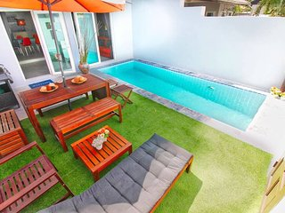 Modern Cozy Villa W/pool & Bbq Area - Near Beach