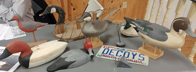 The annual Decoy Festival is in April
