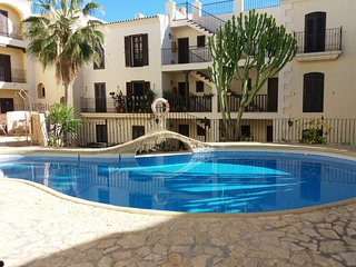 Sea View rental in Villaricos with shared pool.