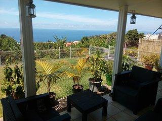 villa vue sur mer, entre Manapany et Grande Anse