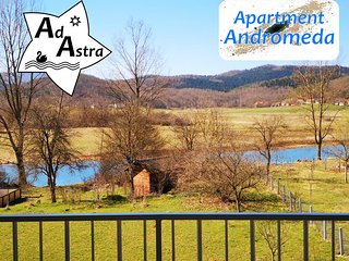 Apartment Andromeda - Ad Astra House by the river Gacka