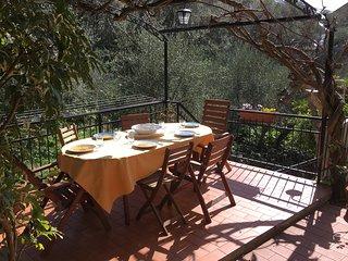 La Cicala, Tellaro - Appartamento con giardino privato e posto auto