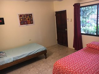 Room #1 with private bathroom close to Carrillo and Samara beach