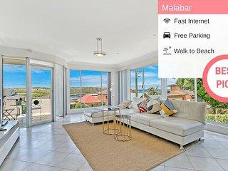 Sydney Malabar Family House Sea View +Parking NMB109
