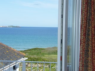 Bay View Apartment, 1 Bed Apartment with Stunning Sea Views of St Ives Bay