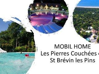 MOBILHOME Les Pierres Couchees 4* 6 personnes
