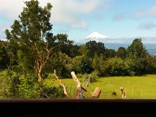 Yurt with Volcano Views by Puyehue National Park