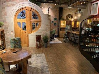Green Door Lofts-Stained Glass Loft