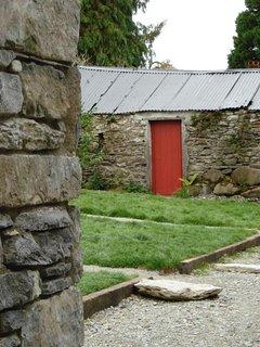 The original cow house