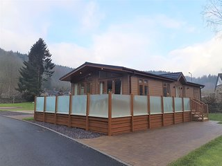 Luxury Lodge 5 Hendre Rhys Gethin Betws y Coed Snowdonia National Park Wales