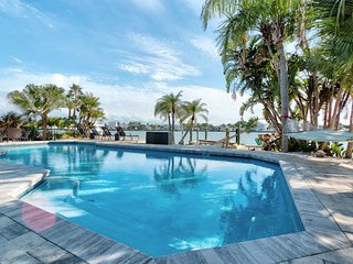 Waterfront home with Pool! Amazing Sunsets!