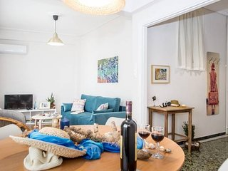 Charming flat inthe center, near the park &the sea