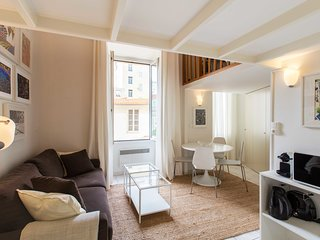 LE SUEDE : Duplex apartment at 1 min to the sea, luminous and calm, 2 baths
