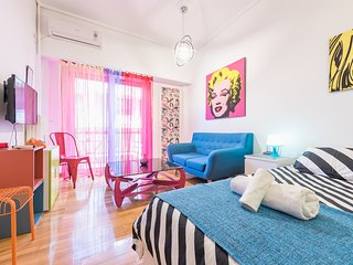 Pop-artment for two in city center