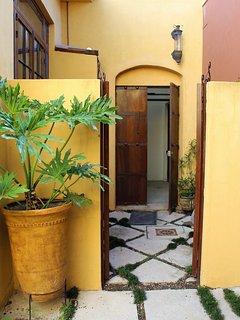 Door between our 2 houses.  Rent them both for 5 bedrooms & 4 1/2 bathrooms!