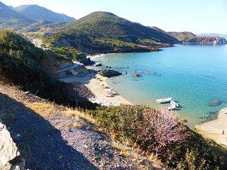 Trekking cottage apartment, mountain village, Iglesias, South Sardinia, hiking.