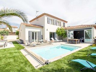 Homelly- Villa avec piscine à 200m de la Mer