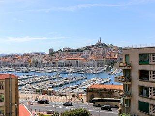 Bel appartement avec vue sur le Vieux Port