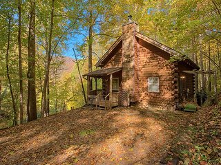 2 BD 2 BA Private Cozy Log Cabin, Close to Town, Cable, WIFI, Limited Pets