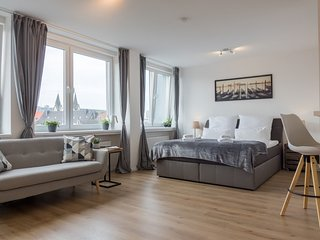 Stilvolles Businessappartement an der Uni, nahe HBF