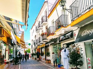 Plaza de los Naranjos - the Old Town of Marbella