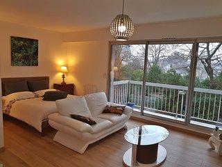 Amazing studio with balcony & Wifi