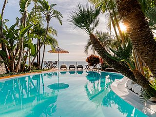 Secluded Villa In Tropical Garden Paradise, Heated Pool & A/C   Villa Do Mar I