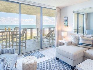 Top Floor Oceanfront Condo - Gorgeous View of Beach!