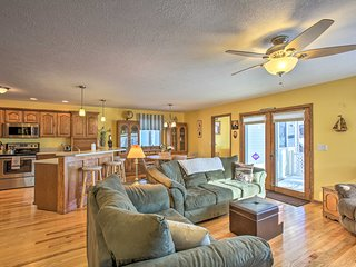 NEW! Houghton Lake Home w/Dock - Near Boat Launch!