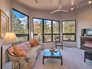 Sedona Apt. w/ Private Patio & Red Rock Views