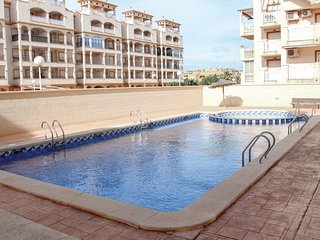 Awesome apartment in Mar de Cristal w/ Outdoor swimming pool, 2 Bedrooms and WiF
