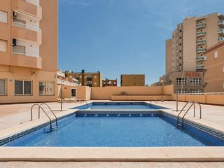 Awesome home in La Manga del Mar Menor w/ WiFi, Outdoor swimming pool and 2 Bedr