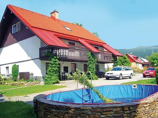 Amazing home in Rokytnice N. Jizerou w/ 1 Bedrooms, WiFi and Outdoor swimming po