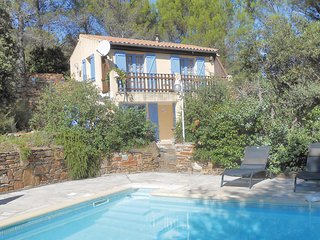 Stunning home in Prades sur Vernazobre w/ Outdoor swimming pool, WiFi and 2 Bedr