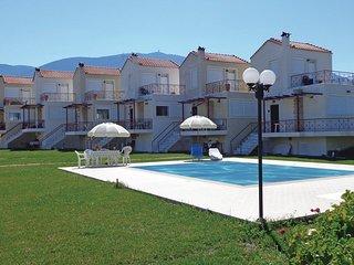 Beautiful home in Alepochori Megara Att w/ Outdoor swimming pool, WiFi and Outdo