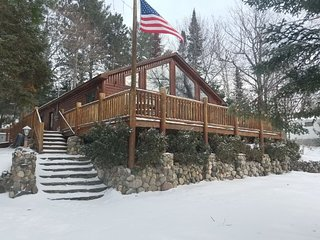 LOST LAKE CHALET (Hawks, MI): Clean, cozy cabin-open year-round! ATV's welcome!